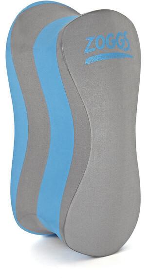 Zoggs Pull-Buoy - Palmes - gris/bleu